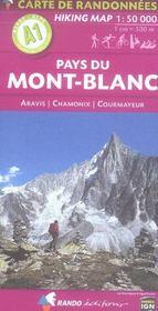 Pays Du Mont-Blanc 1/50.000 - Intérieur - Format classique