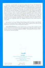 L'Union Europeenne Et Internet - 4ème de couverture - Format classique