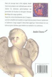 Les Anges Et Leurs Porte-Bonheur - 4ème de couverture - Format classique