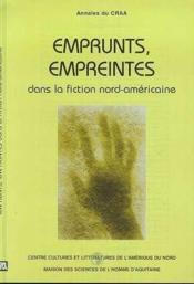 Annales du craa n.24 nouvelle serie ; emprunts empreintes dans la fiction nord americaine - Couverture - Format classique