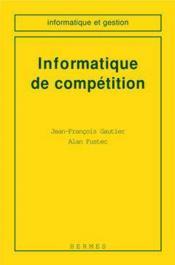 Informatique de competition - Couverture - Format classique