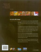 Arts du Congo - 4ème de couverture - Format classique