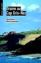 Drame au Cap Gris-nez - Couverture - Format classique