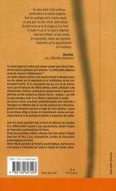 Inquiétude des amours enfantines - 4ème de couverture - Format classique