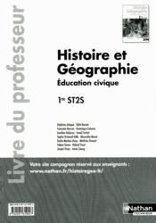 Histoire Geographie 1ere St2s - Couverture - Format classique