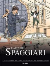 L'affaire Spaggiari - Couverture - Format classique