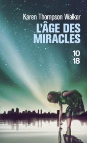 L'âge des miracles - Couverture - Format classique