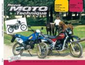 Rmt 62.2 Suzuki Dr 125 S/Honda Xlv 750 Rd Et Rf - Couverture - Format classique