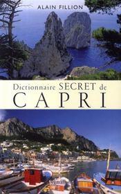 Dictionnaire secret de capri - Intérieur - Format classique