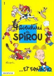 Spirou et Fantasio t.1 ; 4 aventures de Spirou - Intérieur - Format classique