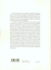 N 10 : Littoraux : Entre Environnement Et Amenagement - 4ème de couverture - Format classique