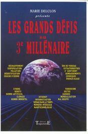 Les Grands Defis Du 3e Millenaire - Intérieur - Format classique