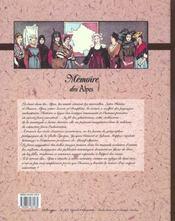 Memoire Des Alpes - 4ème de couverture - Format classique