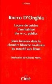 Lecons De Cuisine D'Un Habitue Des W.C. Publics - Couverture - Format classique