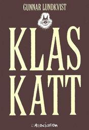 Klaskatt - Couverture - Format classique