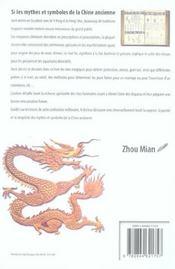 Mythes Et Symboles De La Chine ; Les Rites Decodes - 4ème de couverture - Format classique