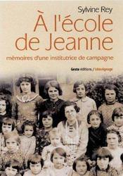 A L'Ecole De Jeanne - Intérieur - Format classique