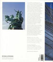 Le Grand Palais ; architecture et décors intérieurs - 4ème de couverture - Format classique