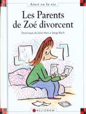 Les parents de Zoé divorcent - Intérieur - Format classique