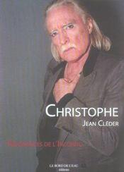 Christophe,Resonances De L'Inconnu - Intérieur - Format classique