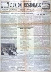 Union Regionale (L') N°1035 du 30/06/1938 - Couverture - Format classique