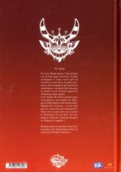 Maskemane t.1 - 4ème de couverture - Format classique