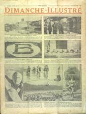 Dimanche Illustre N°284 du 05/08/1928 - Couverture - Format classique
