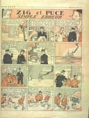 Dimanche Illustre N°284 du 05/08/1928 - Intérieur - Format classique