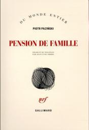 Pension de famille - Couverture - Format classique