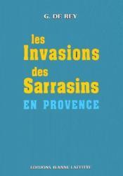 Invasions Sarrasins En Provence - Couverture - Format classique