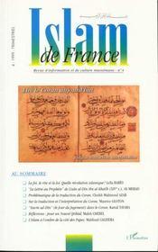 Islam De France T.4 ; Lire Le Coran D'Aujourd'Hui - Intérieur - Format classique