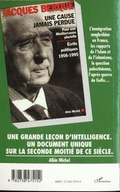 Islam De France T.4 ; Lire Le Coran D'Aujourd'Hui - 4ème de couverture - Format classique
