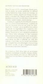 La Tour Des Fourmis - 4ème de couverture - Format classique