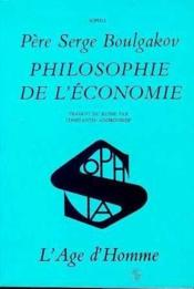 Philosophie De L'Economie (La) - Couverture - Format classique