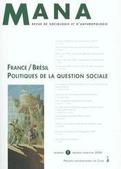 N 7 : France/Bresil : Politiques De La Question Sociale - Intérieur - Format classique