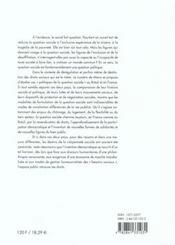 N 7 : France/Bresil : Politiques De La Question Sociale - 4ème de couverture - Format classique