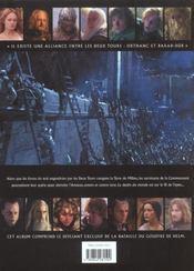 Le seigneur des anneaux ; les deux tours ; le livre officiel du film - 4ème de couverture - Format classique