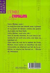 L'etoile de l'himalaya - 4ème de couverture - Format classique