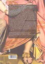 Ingres ; la reforme des principes 1806-1834 - 4ème de couverture - Format classique