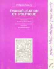 Évangélisation et politique - Couverture - Format classique