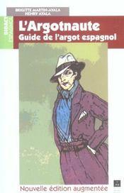 Argotnaute Guide De L Argot Espagnol - Intérieur - Format classique