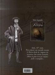 Général Léonardo t.2 ; croisade vers la terre sainte - 4ème de couverture - Format classique