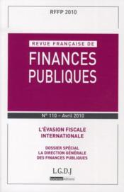 Vente livre :  L'évasion fiscale internationale  - Collectif