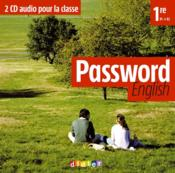 Vente livre :  Password english 1re - cd audio pour la classe  - Abgrall Yannick