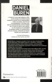 Les écrits 1996-2012 t.2 ; 1996-2102 - 4ème de couverture - Format classique
