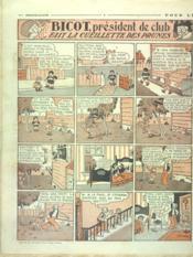 Dimanche Illustre N°285 du 12/08/1928 - 4ème de couverture - Format classique