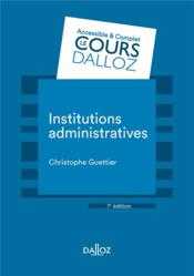 Vente  Institutions administratives  - Christophe Guettier