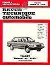 Rta 404.2 Talbot Solara Et 1510 (1981/1985) - Couverture - Format classique