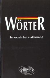 Worter Le Vocabulaire Allemand - Intérieur - Format classique