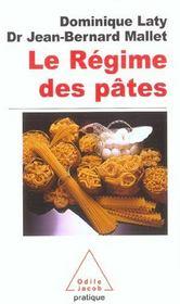 Le Regime Des Pates - Intérieur - Format classique